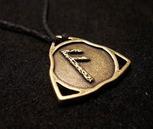 Талисман из руны Ансуз